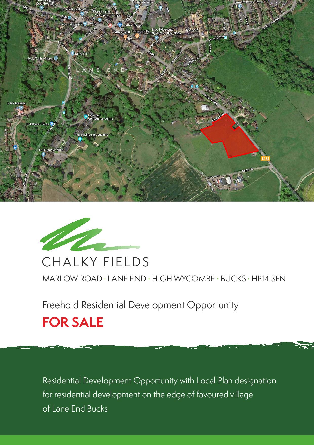 Land At Chalky Fields, Marlow Road, Lane End